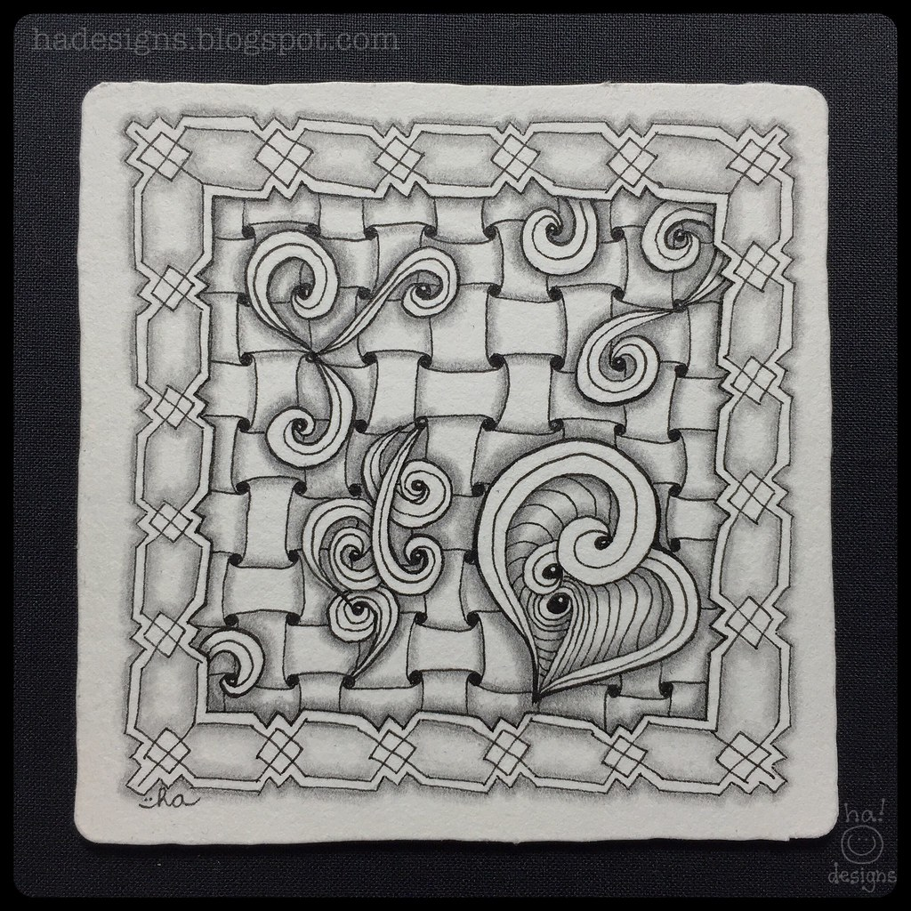 Ha designs 39 s most interesting flickr photos picssr for Zentangle tile template