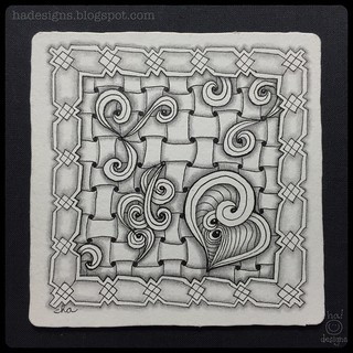Zentangle® Inspired Art : Huggins, Xyp, & Trio