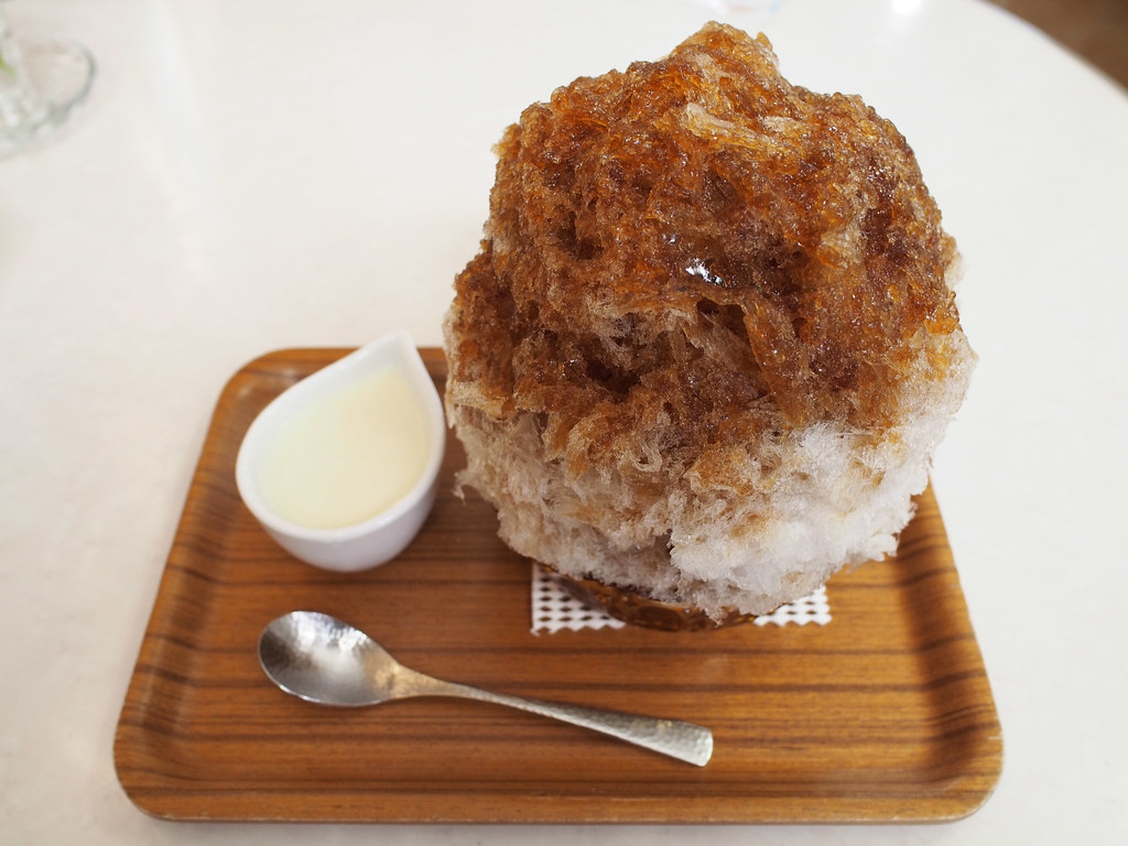 Japanese Ice Shaved | Milk Apricot Kernel Coffee