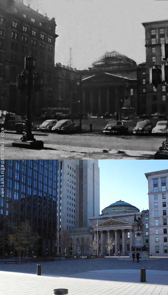 Before and After : Place d'armes