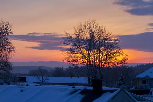 sunset sun denmark solnedgang jylland solen silkeborg