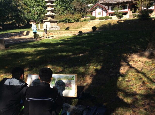 North Korean kids drawing - Thomas Shubbuck's Pictures from North Korea