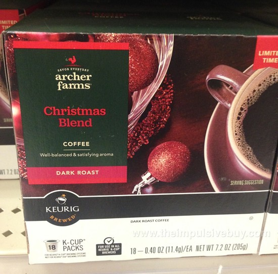 Archer Farms Christmas Blend Coffee K-Cup