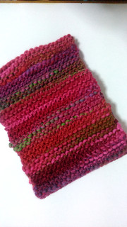 Fuchsia infinity scarf