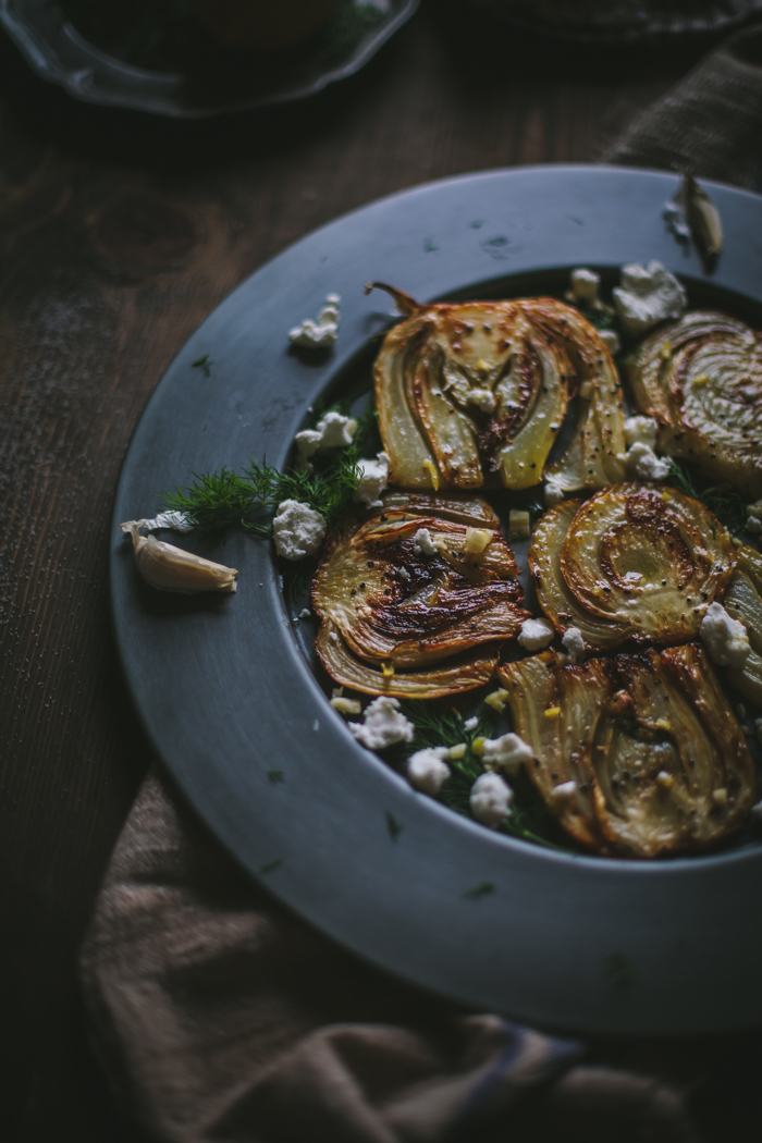 Caramelized Fennel With Goat's Cheese