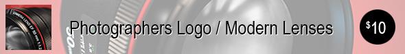 Photographers Logo / Modern Lenses
