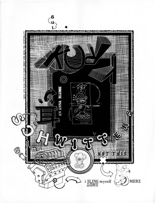 Portrait of Kurt Schwitters by Elliott Earls