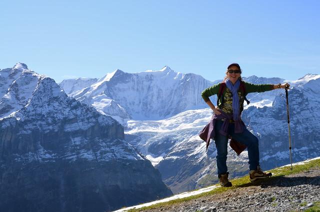 En los alpes suizos