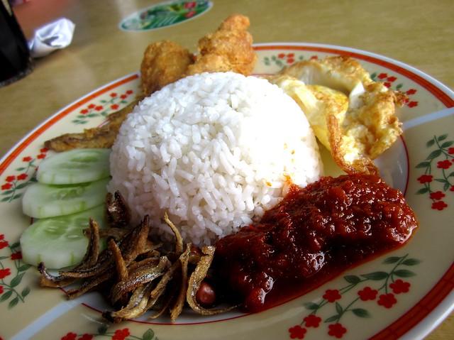 Nasi lemak 1