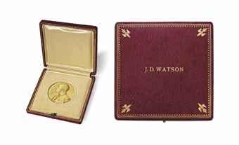 watson_james_dewey_nobel_prize_medal