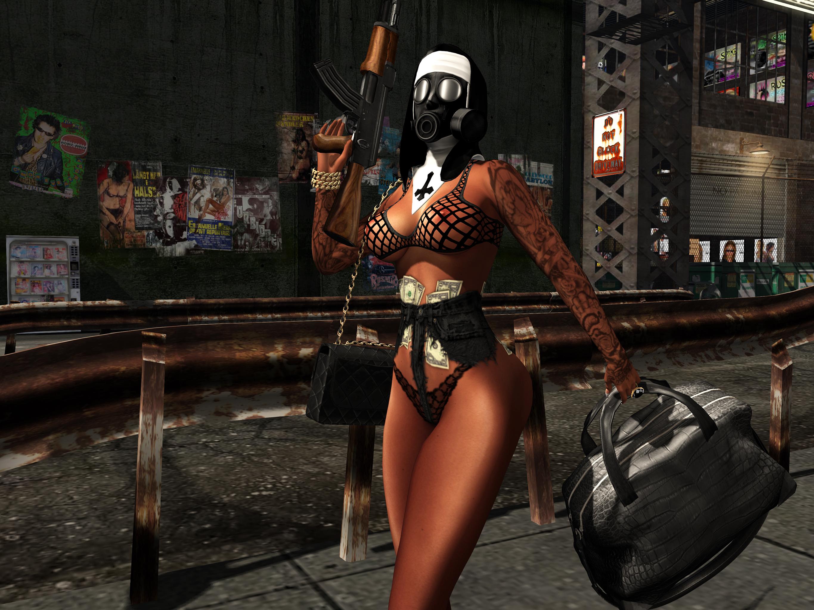 Bandit nun