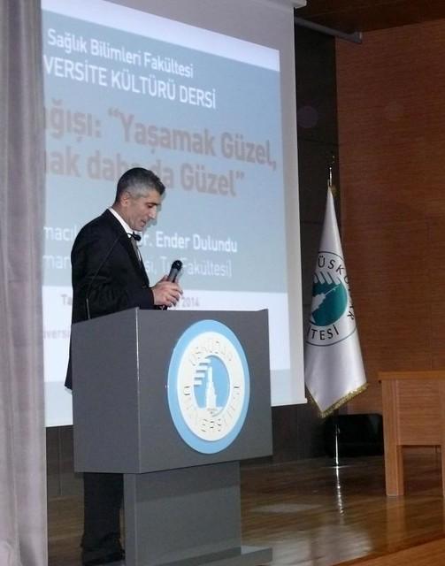 Üsküdar Üniversitesi'nde organ bağışının önemi konuşuldu…