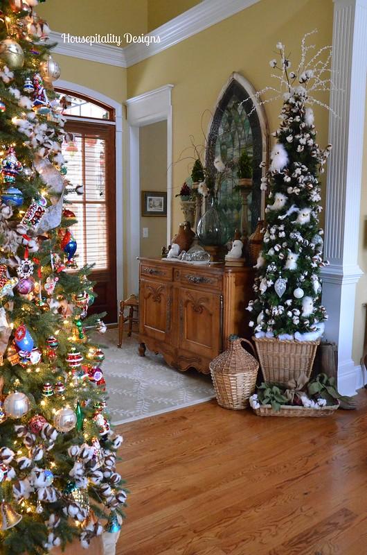 Christmas 2014 Foyer-Housepitality Designs