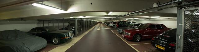 Aperçu du parking !