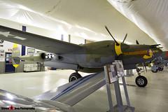 NX2114L 44-27083 5781 Tangerine - 422-8087 - Lockeed P-28L Lightning - Tillamook Air Museum - Tillamook, Oregon - 131025 - Steven Gray - IMG_8059
