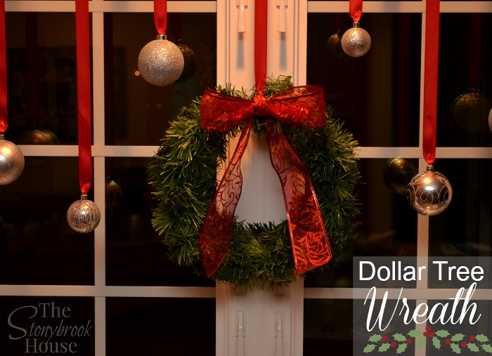 Dollar Tree Wreath Made to look Great!