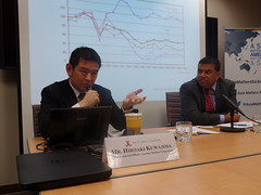 "Hiroaki Kuwajima and Dr. Satu Limaye discuss the future of ""Abenomics"" in light of recent developments in Japan."