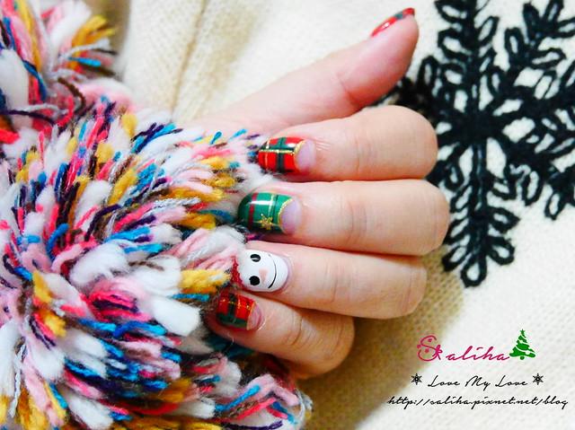 中山站聖誕節美甲光療指甲 (6)
