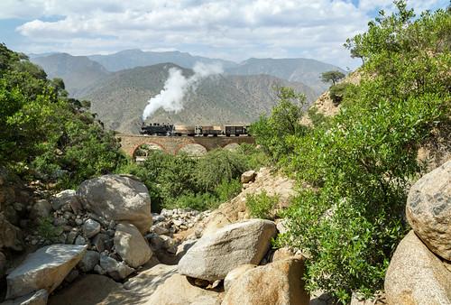 africa mallet eritrea ansaldo narrowgaugerailway 44255 eritrearailway embatkalla embatkala