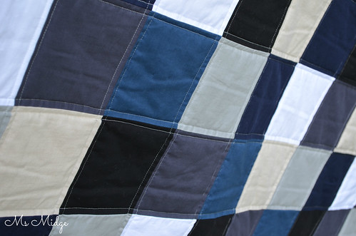 Custom quilt for Archie