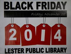 Black Friday Glossy Insert Front
