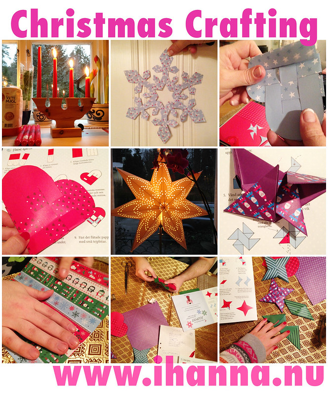 Christmas Paper Crafting by iHanna, more ideasat www.ihanna.nu