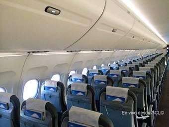 Interior ISIS A320 Sky Airline (Nicolas Matus)