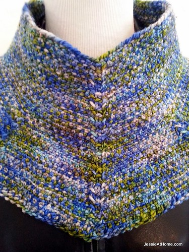 Moonstruck Cowl Free Knit Pattern Jessie At Home