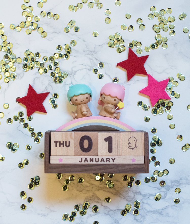 1st january 2015 twin stars sanrio