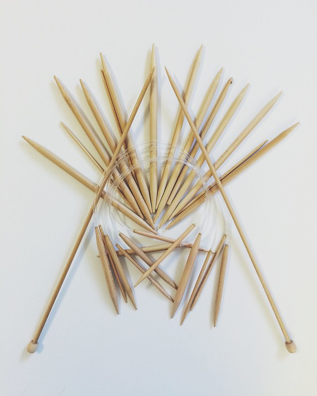 knitting needle collection