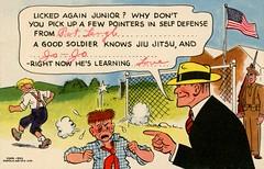 Dick Tracy Says That a Good Soldier Knows Jiu Jitsu