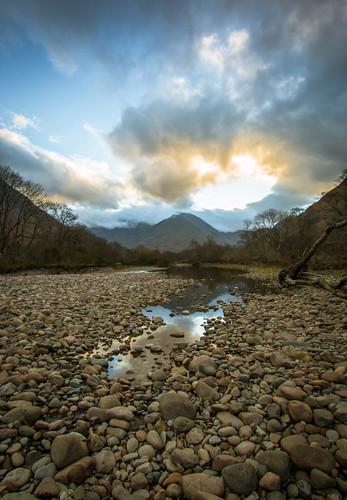 sunrise canon scotland glencoe cloudporn rivercoe glencoevillage