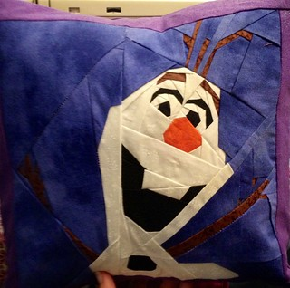 Second Olaf pillow made for a Christmas gift.