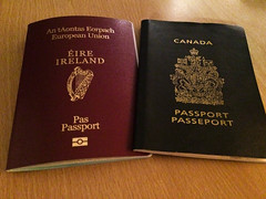 Irish Passport!