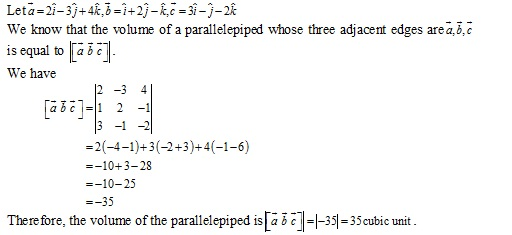 RD Sharma Class 12 Solutions Chapter 26 Scalar Triple Product Ex 26.1 Q3-ii
