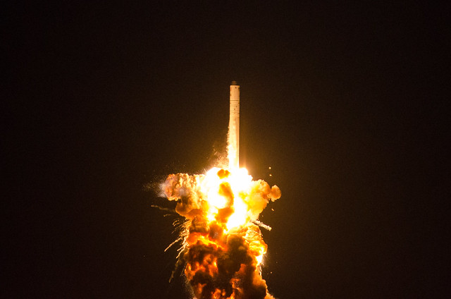 Orb-3 First Stage Failure