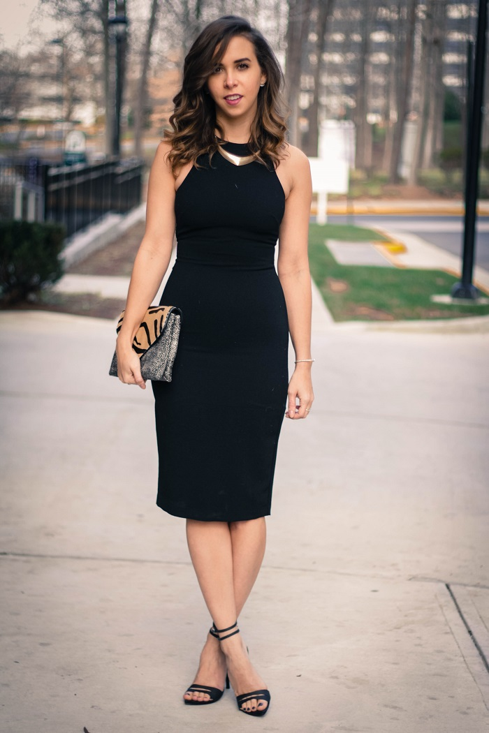 Black dress nordstrom