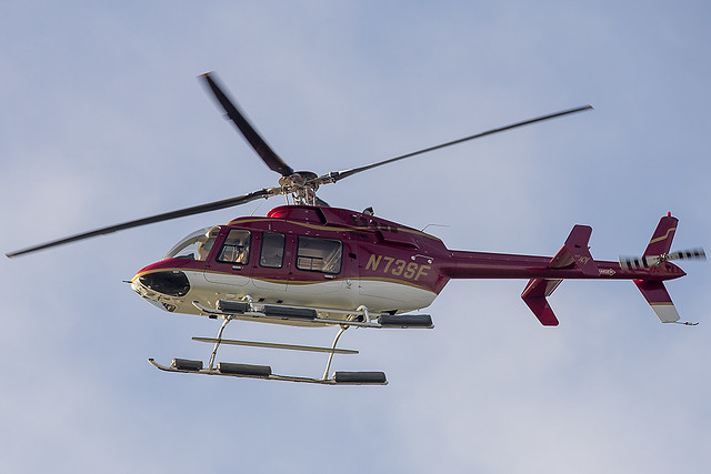 Alcatraz Helicopters LLC Bell Helicopter Textron Canada 407 N73SF