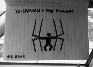 Samson & the pillars