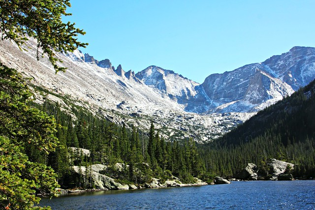 Rocky Mountain National Park, Mills Lake