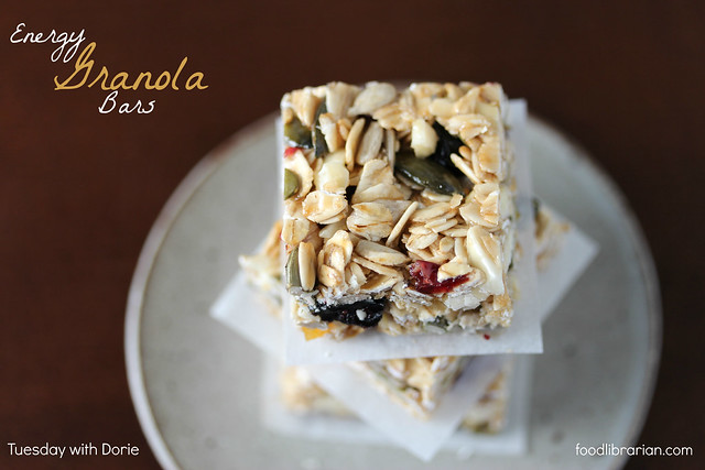 Granola Energy Bars - Tuesdays with Dorie / Baking Chez Moi