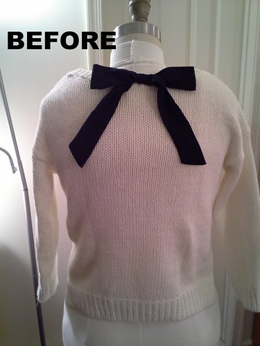 Hollister sweater:  Back Bow Before