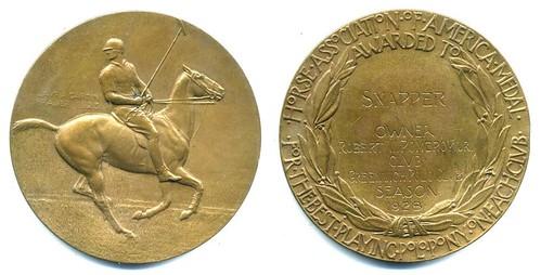 Polo Pony Medal
