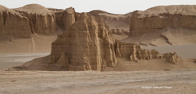 Visitando el desierto del Lut en Irán