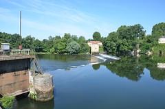 River Lot - Barrage de St-Vite