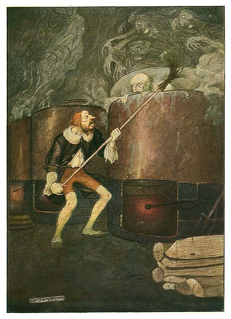 009-Grimm's Fairytale Treasure-1923- Illust. Gustaf Tenggren-via Animation Resources