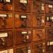 Des armoires à fiches