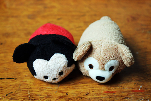 Mickey and his teddybear Duffy
