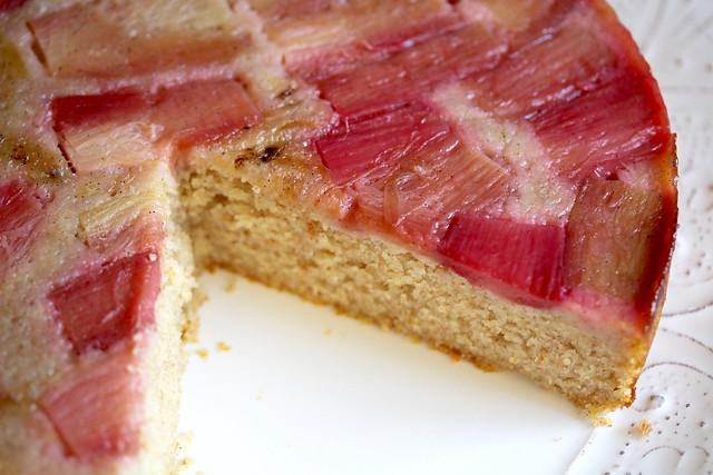 Rye & Rhubarb Cake - 50