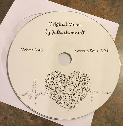 Julia's original music CD